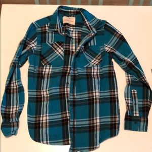 Youth boys flannel